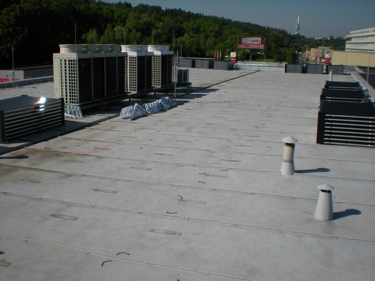 Nátěr ploché střechy